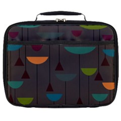 Zappwaits Retro Full Print Lunch Bag by zappwaits