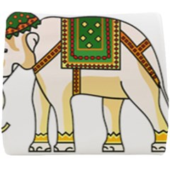 Elephant Indian Animal Design Seat Cushion by Sudhe
