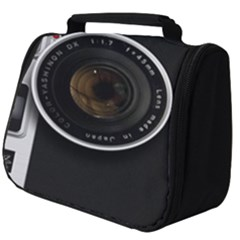 Vintage Camera Full Print Travel Pouch (big)