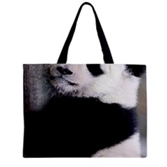 Panda Bear Sleeping Mini Tote Bag by Sudhe