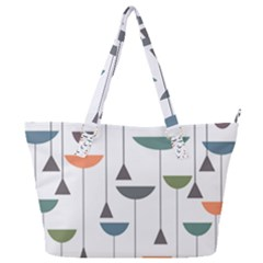 Zappwaits Retro 3 Full Print Shoulder Bag