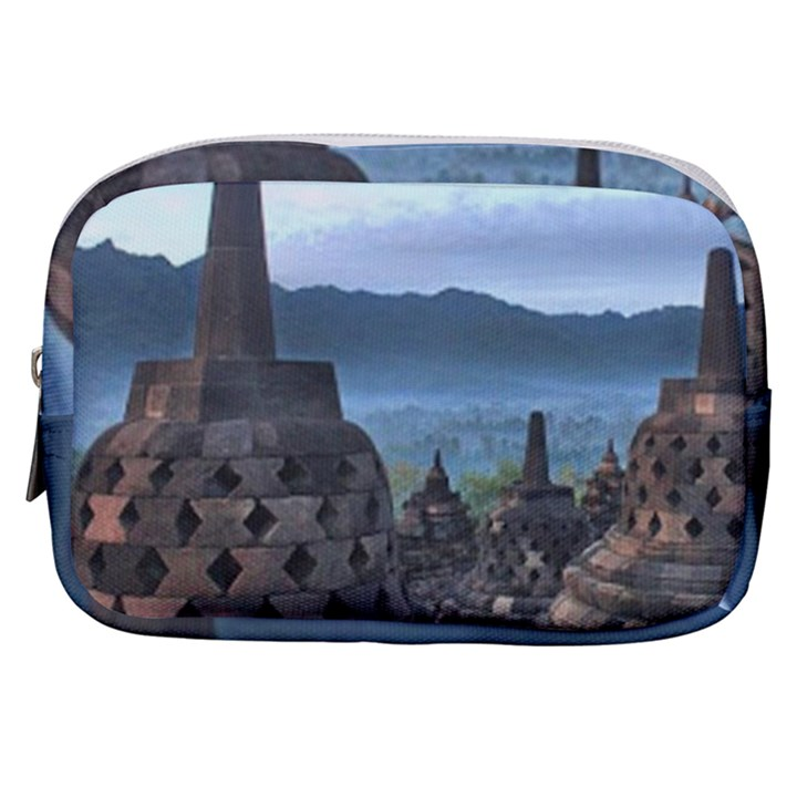 Borobudur Temple  Morning Serenade Make Up Pouch (Small)