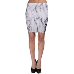 Marble Granite Pattern And Texture Bodycon Skirt