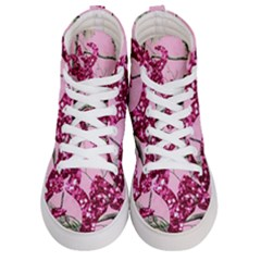 Love Browning Deer Glitter Men s Hi Top Skate Sneakers