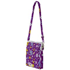 Floral Flowers Multi Function Travel Bag