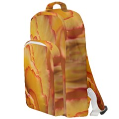 Flowers Leaves Leaf Floral Summer Double Compartment Backpack