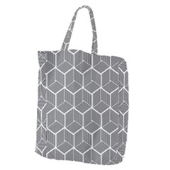 Cube Pattern Cube Seamless Repeat Giant Grocery Tote by Sudhe