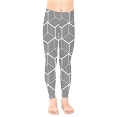 Cube Pattern Cube Seamless Repeat Kids  Legging