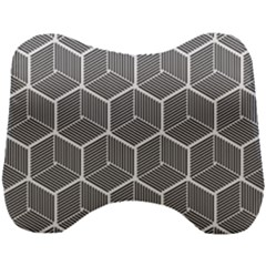 Cube Pattern Cube Seamless Repeat Head Support Cushion