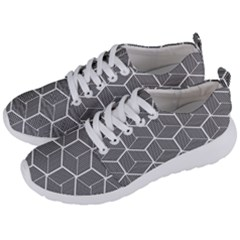 Cube Pattern Cube Seamless Repeat Men s Lightweight Sports Shoes by Sudhe