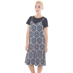 Cube Pattern Cube Seamless Repeat Camis Fishtail Dress