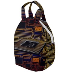 Processor Cpu Board Circuits Travel Backpacks by Sudhe