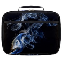 Smoke Flame Dynamic Wave Motion Full Print Lunch Bag