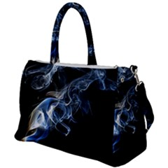 Smoke Flame Dynamic Wave Motion Duffel Travel Bag