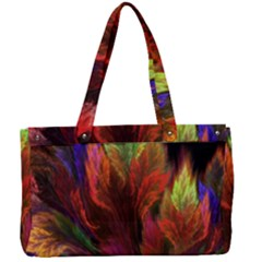 Abstract Digital Art Fractal Canvas Work Bag