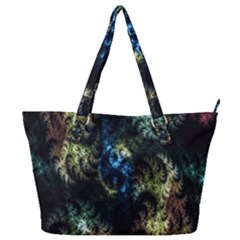 Abstract Digital Art Fractal Full Print Shoulder Bag