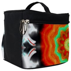 Abstract Kaleidoscope Colored Make Up Travel Bag (big)