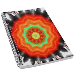 Abstract Kaleidoscope Colored 5 5  X 8 5  Notebook