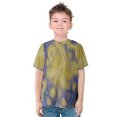Color Explosion Colorful Background Kids  Cotton Tee by Sudhe
