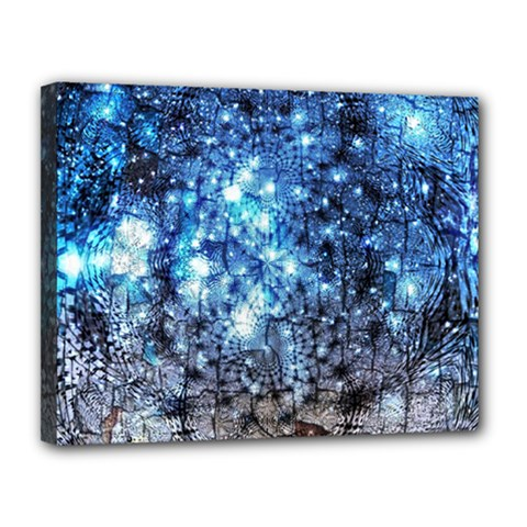 Abstract Fractal Magical Canvas 14  X 11  (stretched)