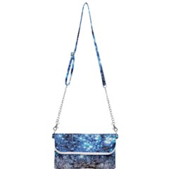 Abstract Fractal Magical Mini Crossbody Handbag