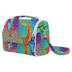 Fractal Art Psychedelic Fantasy Satchel Shoulder Bag