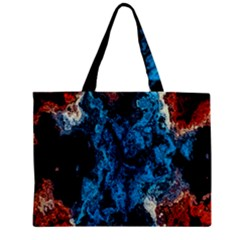 Abstract Fractal Magical Zipper Mini Tote Bag