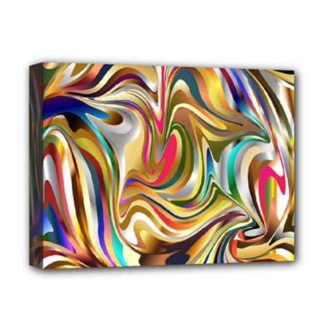 Wallpaper Psychedelic Background Deluxe Canvas 16  X 12  (stretched)