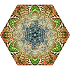 Abstract Fractal Magical Mini Folding Umbrellas