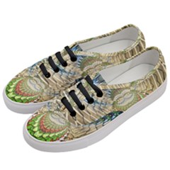 Abstract Fractal Magical Women s Classic Low Top Sneakers by Sudhe