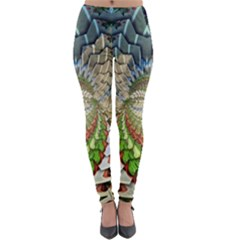 Abstract Fractal Magical Lightweight Velour Leggings