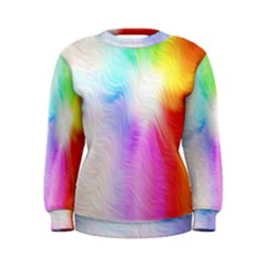 Psychedelic Background Wallpaper Women s Sweatshirt