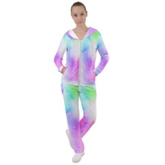 Psychedelic Background Wallpaper Women s Tracksuit