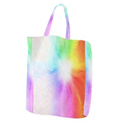 Psychedelic Background Wallpaper Giant Grocery Tote