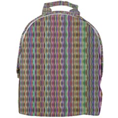Psychedelic Background Wallpaper Mini Full Print Backpack