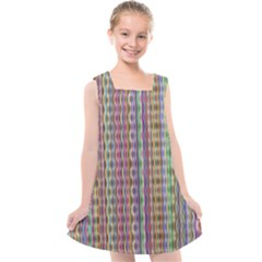 Psychedelic Background Wallpaper Kids  Cross Back Dress