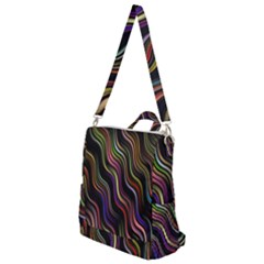 Psychedelic Background Wallpaper Crossbody Backpack