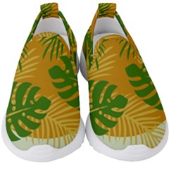 Leaf Leaves Nature Green Autumn Kids  Slip On Sneakers