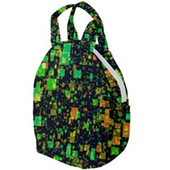 Squares And Rectangles Background Travel Backpacks