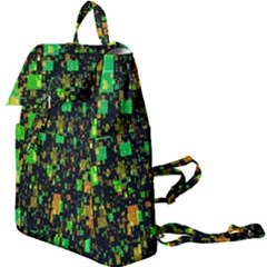 Squares And Rectangles Background Buckle Everyday Backpack