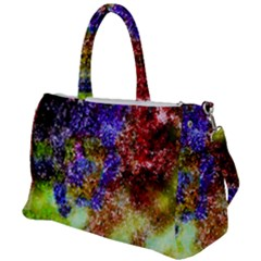 Splashes Of Color Background Duffel Travel Bag by Sudhe
