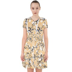 Floral Pattern Background Adorable In Chiffon Dress by Sudhe