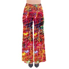 Random Colored Light Swirls So Vintage Palazzo Pants by Sudhe