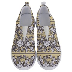 Floral Pattern Background No Lace Lightweight Shoes