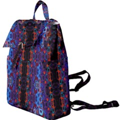 Kaleidoscope Art Pattern Ornament Buckle Everyday Backpack