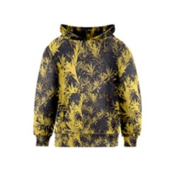 Artistic Yellow Background Kids  Pullover Hoodie