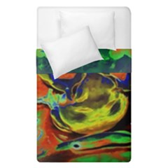 Abstract Transparent Background Duvet Cover Double Side (single Size)