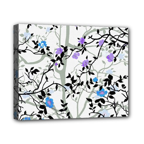 Floral Pattern Background Canvas 10  X 8  (stretched)