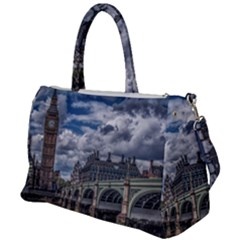 Architecture Big Ben Bridge Buildings Duffel Travel Bag