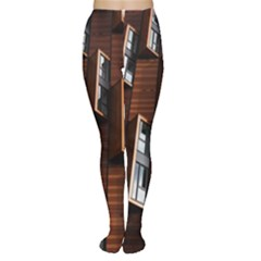 Abstract Architecture Building Business Tights
